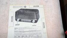 Philco Radio Models 50-520 50-5201 Sams Photofacts Folder