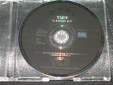 TUFF - Radio EP - 3 Track Germany PROMO DJ CD! RARE! Mausoleum in dogs we trust