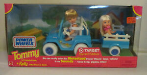 1998 Tommy & Kelly Power Wheels by Fisher-Price Motorized Jeep Target Special Ed