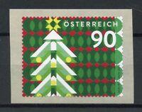 Austria 2018 MNH Christmas Trees 1v S/A Coil Set Seasonal Stamps