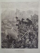 Gustave Dore London A Pilgrimage Putney Bridge The Return Engraving 1872
