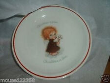 Little Folks Collector's Plate Christmas Staffordshire