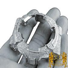 CUSTOM G-SHOCK BEZEL WOMEN'S 14K WHITE GOLD FINISH DIAMOND SIMULATED GA 100