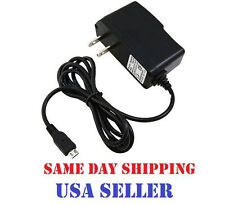 micro USB AC Wall Charger Adapter For Verizon Ellipsis TM 7 4G LTE Tablet PC