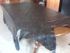 A Leather Cow Hide Full Cow HideCapri Malaga Black leather cow hide upholstery