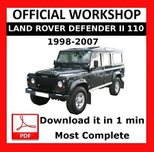 buy defender land rover car manuals literature ebay rh ebay co uk 2002 land rover discovery owners manual pdf land rover discovery sport owners manual pdf