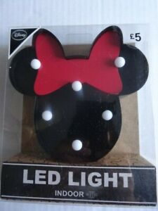 Disney Minnie Mouse indoor battery-operated LED light
