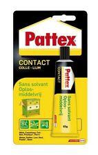 COLLE CONTACT SANS SOLVANT PATTEX BOIS METAL PLASTIQUE BOIS VERRE CUIR CAOUTCHOU
