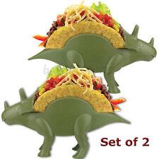 2x Tricerataco Taco Holder Triceratops Dinosaur Kidsfunwares Kids Boys Taco Rack