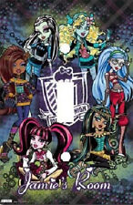 PERSONALIZED MONSTER HIGH LIGHT SWITCH PLATE COVER