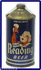 Cone Top Reading 1930's Era  Beer Can  Refrigerator / Tool Box Magnet