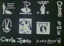 Lot of 10 punk patches!! queers filth SLF