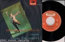 "GINO BRAMIERI MOVIMENTO MOVIL + NINNA NANNA POLYDOR 1963 ITALY 7"" 45 GIRI"
