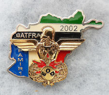 INSIGNE PARACHUTISTES - 17° R. G. P. - E. O. D. - BATFRA 2002 - PAMIR 1 - Matri.