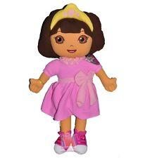 Dora The Explorer Princess Dress Plush Pillow (24 Inch), New