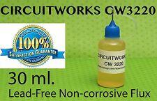 30 ml. / 1 Oz.   CIRCUITWORKS CW3220 NO CLEAN LIQUID FLUX