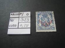 timbre service ancien  vendu à 20% COB S23 oblitéré
