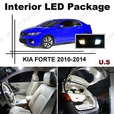 White LED Lights Interior Package Kit for Kia Forte 2010-2012 ( 7 Pcs )