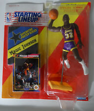1992 Starting Lineup Magic Johnson Los Angeles Lakers Kenner Basketball Figure