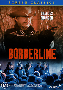 Charles Bronson Ed Harris BORDERLINE DVD