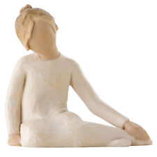 Willow Tree Thoughtful Child Figurine 26225 Girl in Branded Gift Box