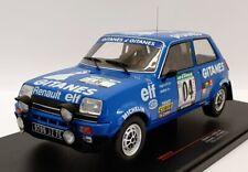 IXO 1/18 Scale Diecast 18RMC043A - 1978 Renault 5 Alpine #4 Rally Bandama