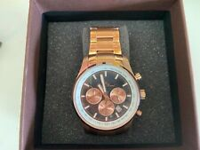 Lucien Piccard mens watch rose gold