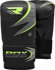 RDX Gel Pro Bag Mitts Boxing Gloves MMA UFC Muay Thai Training Grappling Punch G