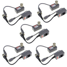 10pcs CCTV Coax BNC Video Power Balun Transceiver to CAT5e CAT6 RJ45 Connector