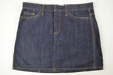 Gap Womens Dark Blue Mini Denim Jean Skirt size 12