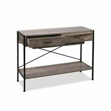 Artiss FURNI-G-IND-DESK-01-WD Wooden Console Table