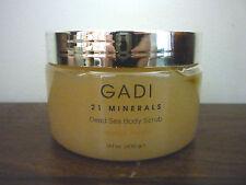 NEW GADI 21 Minerals Dead Sea Body Scrub - Tangerine- 400gr