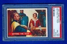 1957 57 TOPPS ROBIN HOOD #37 PSA 8 OC