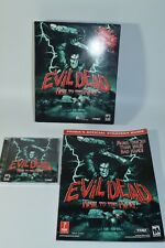 Evil Dead PC GAME with big BOX hail to the king horror rare Plus Strategy Guide