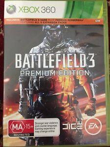 BATLLEFIELD 3 premium edition - XBOX 360
