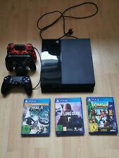 Sony PlayStation 4 500GB Konsole - Schwarz Inkl. Zubehörpaket