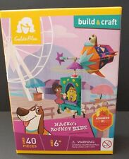 "Goldie Blox Build & Craft ""Nacho's Rocket Ride"" Construction Toy"