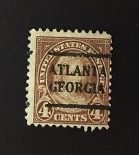 Atlanta, Georgia Precancel - 4 cents Martha Washington (U.S. #556) GA