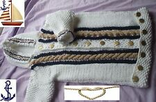Baby winter sleeping bag knitting pattern, Chunky yarn. 3 sizes. boy. papoose