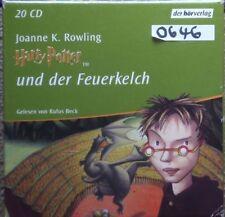 Harry Potter und der Feuerkelch 4 Hörbuch - 20 CDs - 0646 !