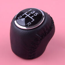 Leather Gear Shifter Shift Knob Fit For Fiat Grande Punto 06-12 Linea 07-15