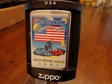 OTTO CAR VINTAGE SHOW 2005 LIMITED EDITION 062/100 ZIPPO LIGHTER MINT