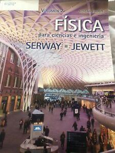 Física para Ciencias e Ingeniería, Volumen 2,  Serway, Jewett
