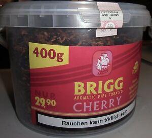 Brigg C ( Cherry) Pfeifentabak  400 g  auch z. Stopfen geeignet