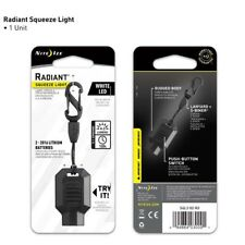 Radiant LED Squeeze Key Chain Light