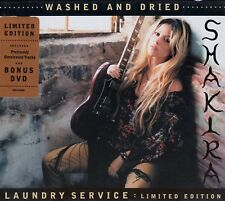 SHAKIRA : LAUNDRY SERVICE - LIMITED EDITION - WASHED AND DRIED / CD + DVD