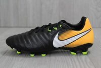 28 Youth Nike JR Tiempo Legend VII FG Soccer Cleats Black 897728 008 Size 6Y