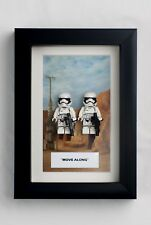 Star Wars Lego Figure Box frame Picture Stormtrooper Move Along Gift fits Lego