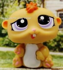 LITTLEST PET SHOP❉TAN BABY HAMSTER #1479❉NEW❉PETRIPLETS GERBIL❉PURPLE EYES
