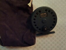 Vintage Cortland Vista Ds reel with 3wt fly line, made in Usa